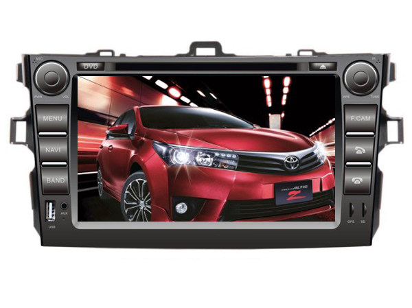 Android 6 0 quad core android car dvd Fit for toyota corolla 2011 big usb front