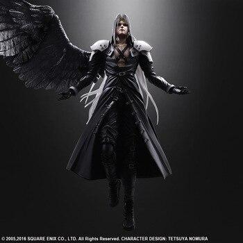 Kai Final Fantasy VII 7 Sephiroth Action Figure Model Toy 26cm