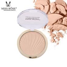 Miss Rose Brand Natural Highlighter Makeup Palette 12 Colors Glow Illuminator Contour Glitter Highlight Make Up Powder Brighten