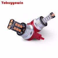 800 lumen Super Helle 2835 Chipsätze 3056 3156 3057 3157 4114 Led-lampen für Bremslicht rückleuchten Blinker, Brilliant Rot