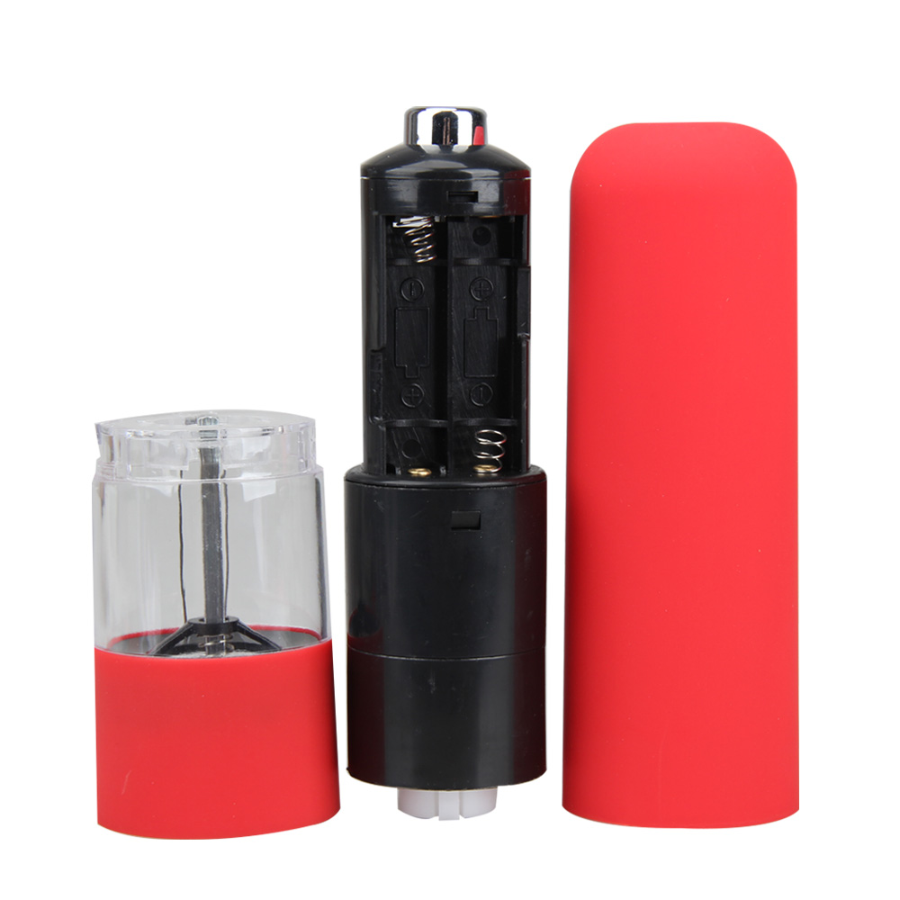 Kitchen Tools ABS Plastic Electric Spice Salt Pepper Mill Miller Grinder Seasoning Grinding for Cooking Kitchen