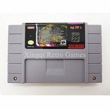 Super Nintendo SFC/SNES 25 en 1 Vidéo Jeu AM09 Cartouche Console Carte NOUS NTSC Version Anglais Langue Collection