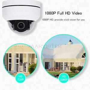 Image 3 - 1080P kamera PTZ IP na zewnątrz wodoodporny bezpieczeństwo w domu kamera Mini prędkość kamera kopułkowa IP HD Onvif 4X Zoom noktowizor IP kamera na podczerwień