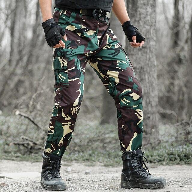 4bd037f019698 2019 S Hot Sale Casual Camouflage Pants Men's Military Tactical Pants  Classic Army Style Pantolon Joggers Trouser Cargo Pants