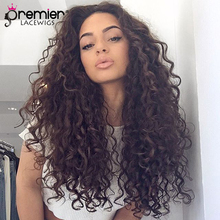 hot deal buy premier 360 lace wigs curly human hair brazilian virgin hair lace wigs,150% thick density,pre plucked hairline [360lw11]