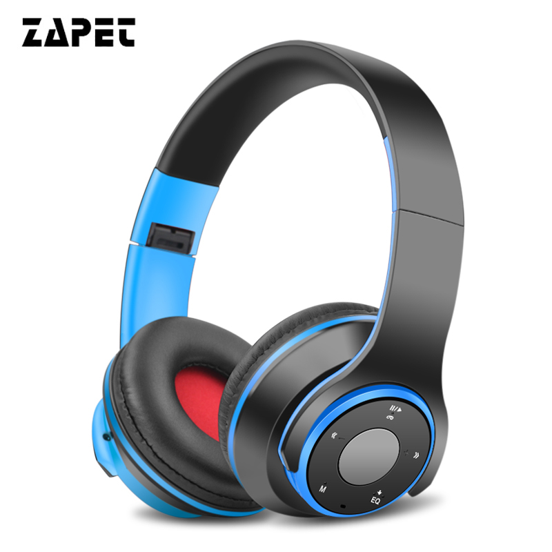 Stereo Headphones Bluetooth Headset earphone Wireless Headphones Foldable Sport Earphone TF card Handfree MP3 player with Mic stylish neckband headphones mp3 player headset w fm tf card slot blue black
