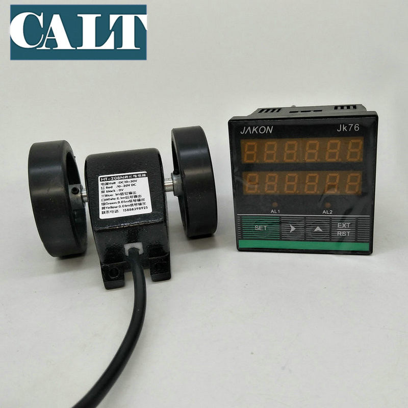 JK76 High precision electronic digital display intelligent length measuring counter with HT 208 counter