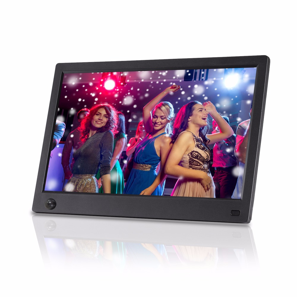 HD Digital Photo Frame 10 Inch Wall Mount Advertising Player Electronic Photo Frame IPS Full View