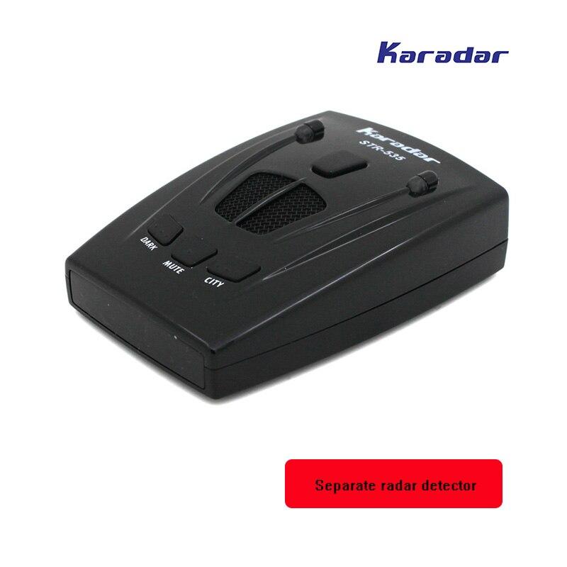 Karadar Анти радар полицейский радар детектор движения X K KA лазер стрелка Авто радар str 535 автомобиль-детектор