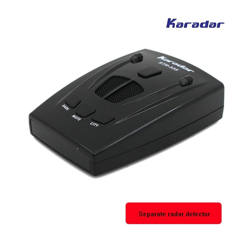 Karadar Anti radar rivelatore del radar di polizia pistola motion detection X/K/KA/Laser/Strelka radar auto str 535 auto-detector