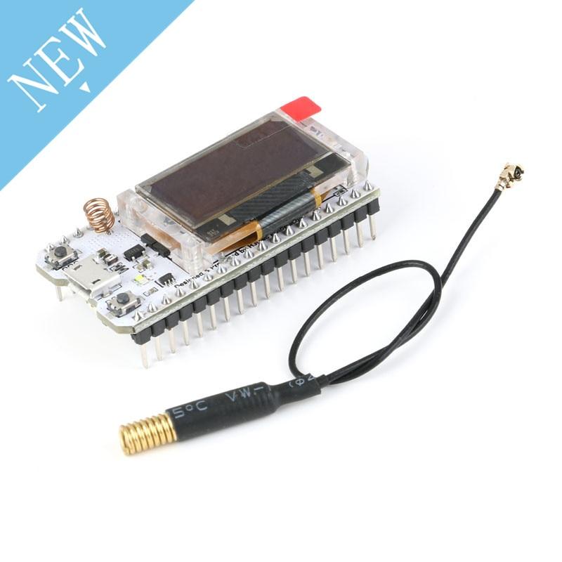 SX1278 ESP32 LoRa 0 96 Inch Blue OLED Digital Display Bluetooth WIFI Kit  Module IOT Development Board 433MHz for Arduino