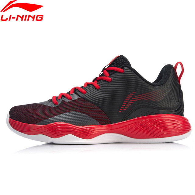 Li-Ning Men SHADOW II On Court Basketball Shoes Wearable Support Medium Cut LiNing Sport Shoes Sneakers ABPN019 XYL199