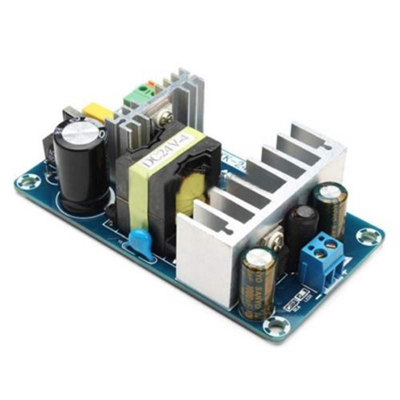 AC 85-265V to DC 24V 4A-6A 100W Switching Power Supply Board Power Supply Module new 2018 fashion men dress shoes black leather pointed toe male business shoes lace up men falt office shoes yj b0035