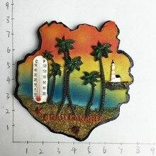 Сувенирный термометр Gran Canaria магниты на холодильник с кокосовым деревом