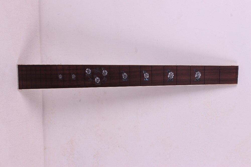 2 pcs Guitar Fretboard Fingerboard Fretless Guitar parts Dot inlaid Maple wood #21 acoustic guitar neck fingerboard fretboard for guitar parts replacement rosewood zebrawood veneer
