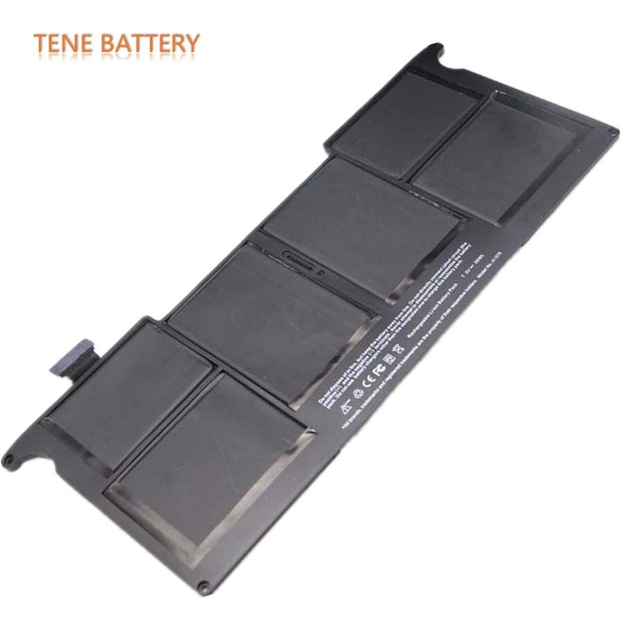 Pour Macbook Air A1375 batterie 7.3V 35Wh batterie de remplacement pour ordinateur portable pour Apple Air 11 pouces A1370 A1406 A1375 A1465 Batteries
