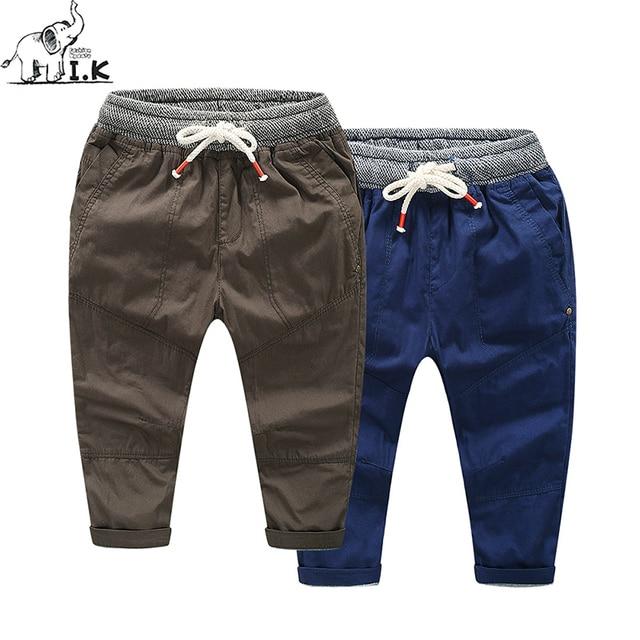 IK Niños invierno cálido doble capa gruesa Vaqueros Pantalones niño niños  Denim azul pantalones niños moda 2ae98118c89e