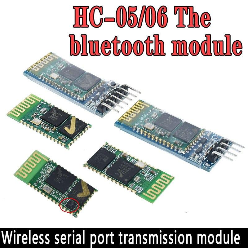 HC-05 HC 05 hc-06 HC 06 RF sans fil Bluetooth émetteur-récepteur Module esclave RS232/TTL vers UART convertisseur et adaptateur