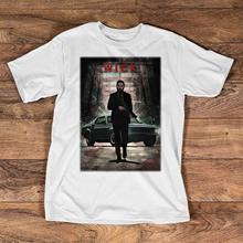 John Wick Shirt - Baba Yaga and His Horse T for Men 2018 Short Sleeve Cotton T-Shirts Man Clothing