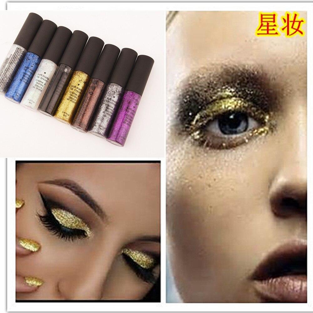 buling buling califican eyeliner belleza delineador de ojos de color maquillaje estrella naturales impermeable no florecen