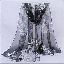Fashion Female Scarf Chiffon scarves Thin Shawl Long Sunscreen Decorative