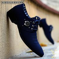 Men's Shoes In The Spring Of 2018 New Trend Leisure Canvas Breathable Pointed Students Male Adolescents