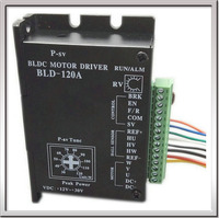 Free Shipping CE ROHS Brushless DC Motor Driver BLDC Controller BLD 120A For 120W Or Less