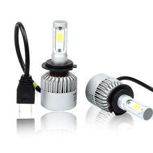 Sunmeg Car Headlight H7 led Fog Lights Led H4 Car Bulbs for Auto H1 led 6500K