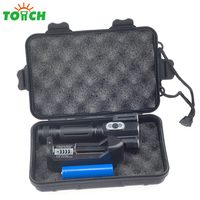 Aluminum Alloy Black Cree T6 3 Mini Taschenlamp Portable Rechargeable Led Flashlight Magnet Toollight With 18650