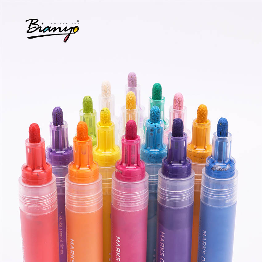 Bianyo Sketch Art Pen Marker 2mm 12/24 Colors Paint Markers School Supplies Watercolor Pens Professional Markers stationery touchnew 60 colors artist dual head sketch markers for manga marker school drawing marker pen design supplies 5type