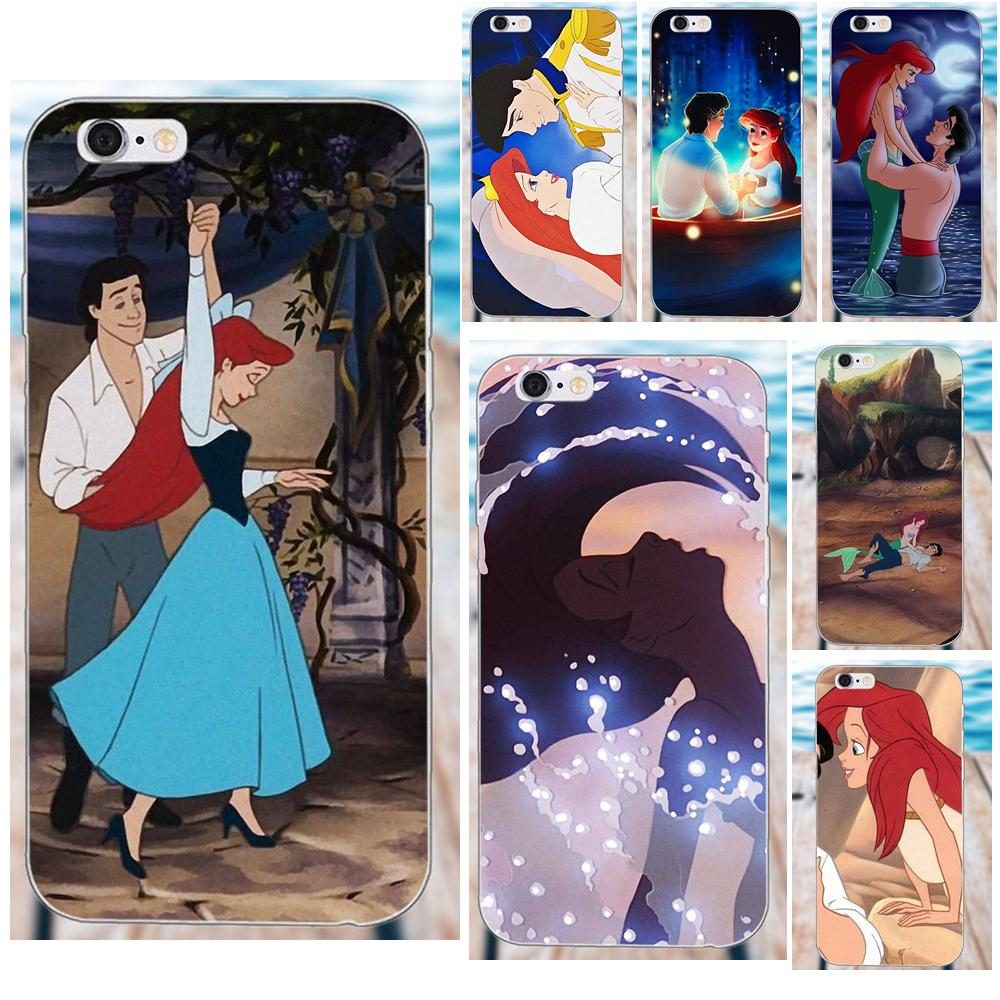 2019 Fashion Microdata The Little Mermaid Ariel And Eric For Apple Iphone 4 4s 5 5c Se 6 6s 7 8 Plus X Galaxy Grand Core Ii Prime Alpha Fragrant Aroma