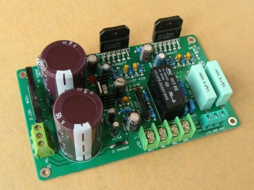 LM3886 Amplifier HiFi Stereo amp Assembled Board (With speaker protection)