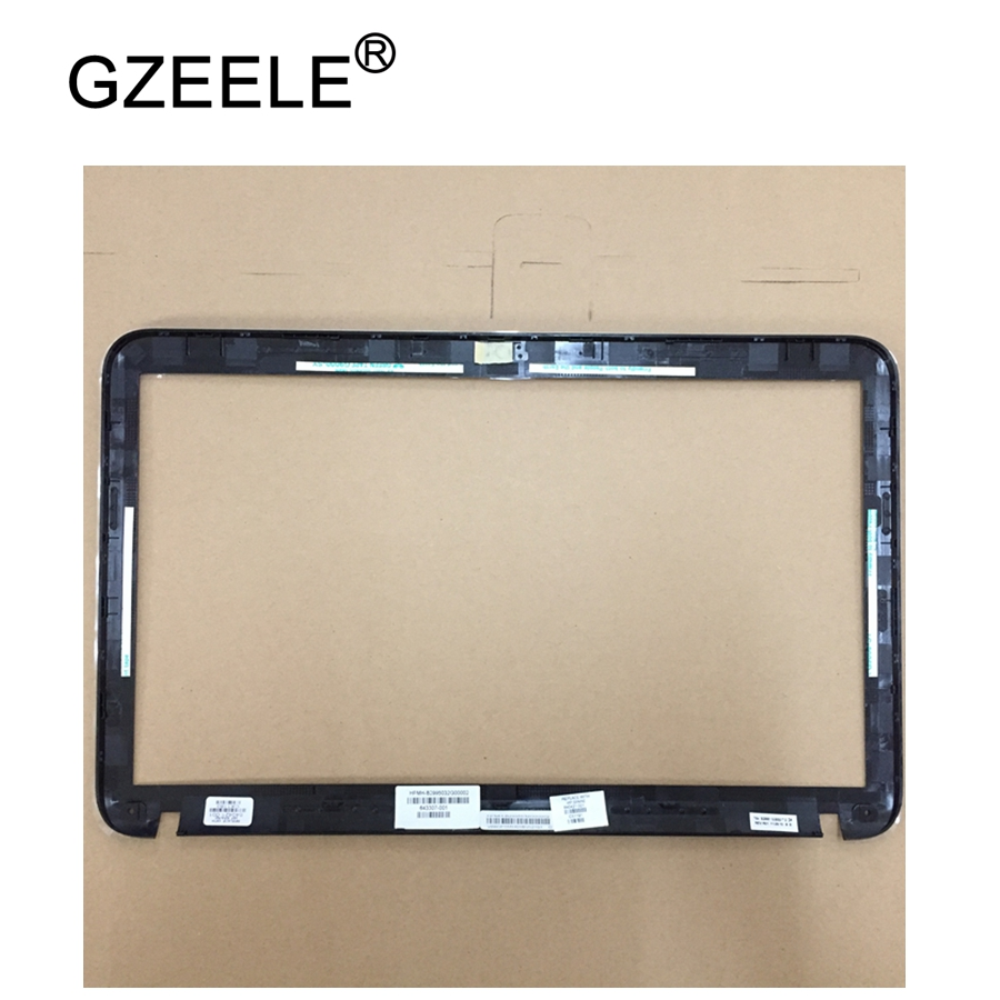 GZEELE New LCD Front Bezel Cover For HP For Pavilion DV6-6000 LCD Front Bezel Cover B Shell