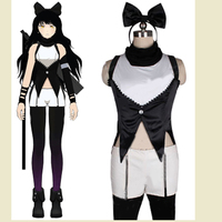 Free Shipping RWBY Black Trailer Blake Belladonna Sexy Cosplay Costume For Women&Girl Christmas Halloween Costumes