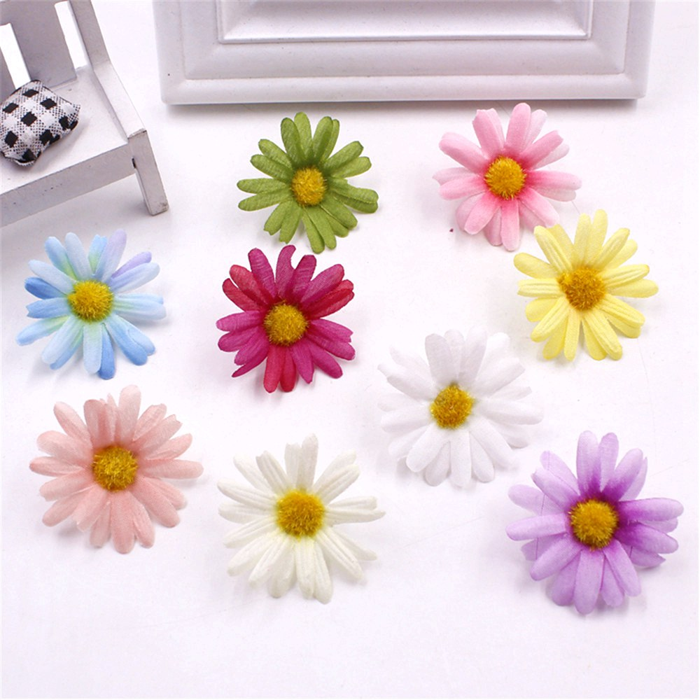 Wholesale 5pcslot Simulation Chrysanthemum Silk Flowers 45 Cm Diy