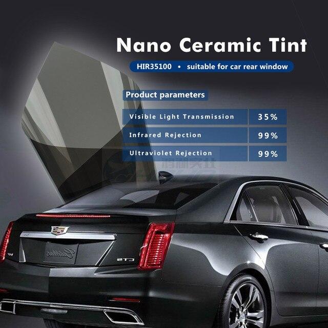 Sunice Auto Window Film Dark Gray Solar Car Stickers 1.52X30M Heat Insulation Automobile Side Window Tinting Films (5ftx100ft)