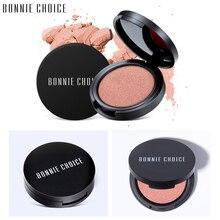 Bonnie Choice макияж Запеченные Румяна 6 цветов Профессиональный для щек бронзатор Blushe Высокое качество Макияж Красота Новая мода косметика