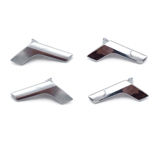 For Mercedes Benz C GLK Class W204 X204 2008   2014 Electroplated / Matte Chrome Interior Car Door Handle Panel Pull Cover