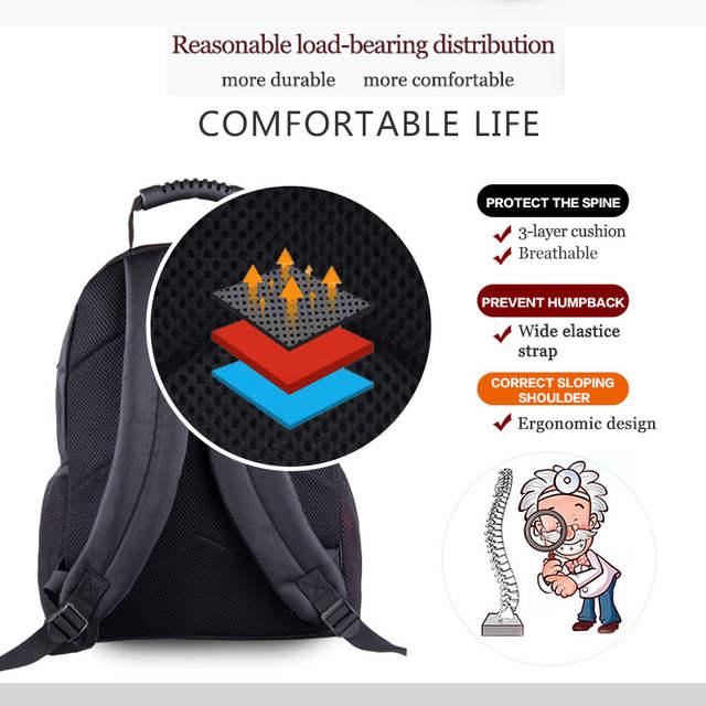 ba1feba0f508 Cool Russian Bear Backpack For Teenage Boys Children School Bags Men Travel  Bbackpack Laptop Bag Kids