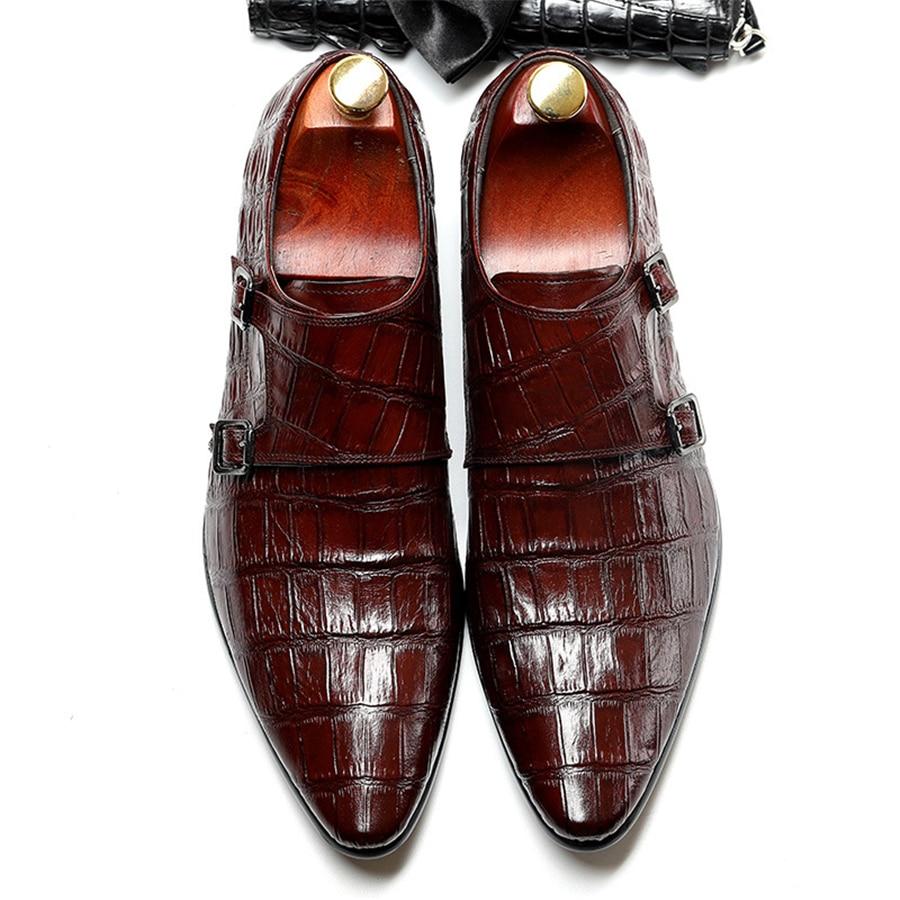 Ayakk.'ten Resmi Ayakkabılar'de Hakiki inek deri brogue iş Düğün ayakkabı erkekler casual flats ayakkabı vintage el yapımı ayakkabı oxford ayakkabı erkekler için bahar'da  Grup 1