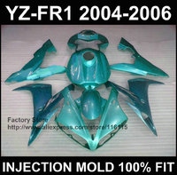 7Gifts fairing kit for YAMAHA fairings YZF R1 2004 2005 2006 yzf r1 04 05 06 pure sky blue fairing set Full injection