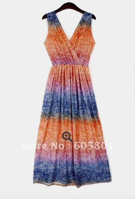 New Arrivel Bali Beach Holiday Dress V Neck Dress The Madai Holiday