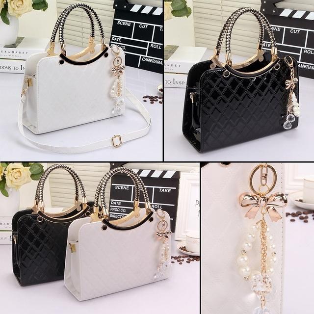 Women Top-handle Bag Designer for PU Leather 2019 Luxury Handbags  Shoulder Cross Messenger Crossbody Famous Brand Purse
