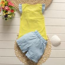 Summer Baby Girl Clothing Set