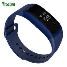 TROZUM Новые Сенсорный Экран A09 Умный Браслет Часы Браслет артериального давления Монитор Сердечного ритма Шагомер Фитнес-Смарт-Браслеты