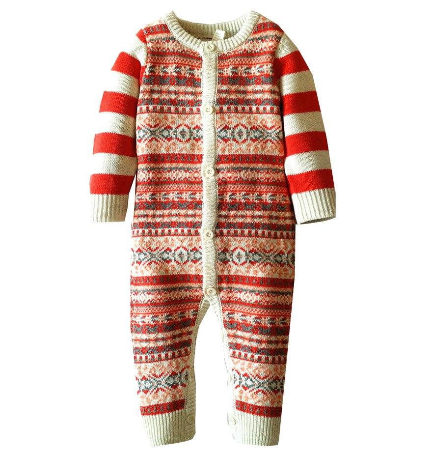 2eccf55e1 6M 2Y Infant Baby Boy Girl Pullover Cotton Jumpsuit Newborn Baby ...