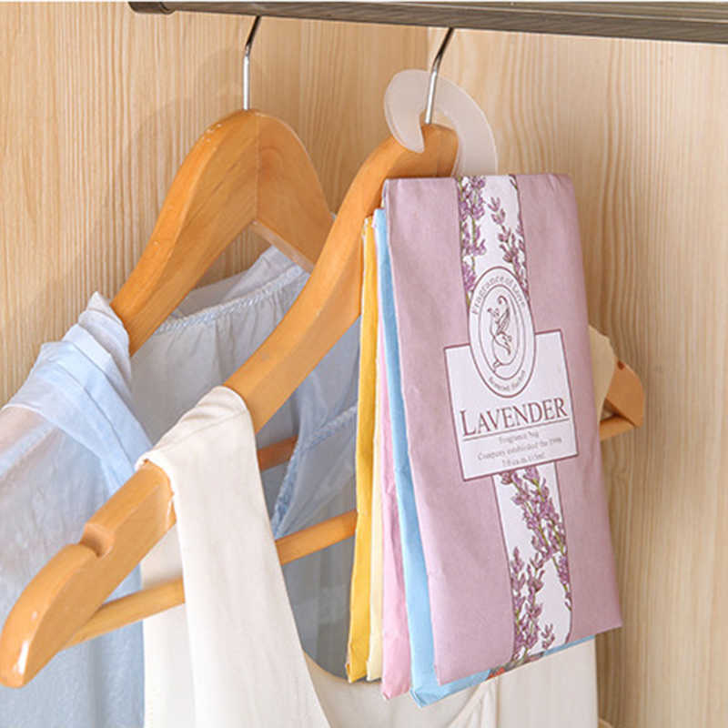 1PC Natural Hanging Spices Wardrobe Aromatherapy Bag Air Fresheners Fragrant Flavor Bag Cabinet Car Wardrobe Spice Pockets