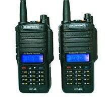 8 w baofeng UV 9R walkie talkie ip67 à prova dip67 água dupla banda rádio em dois sentidos uhf vhf fm transceptor rádio amador cb rádios de carro para presunto uv9r