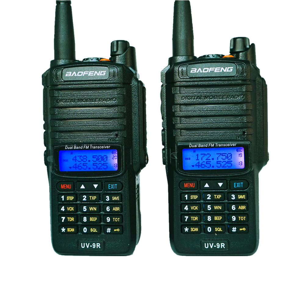 8W Baofeng UV-9R Walkie Talkie IP67 Waterproof Dual Band Two Way Radio UHF VHF FM Transceiver Amateur CB Car Radios For Ham UV9R
