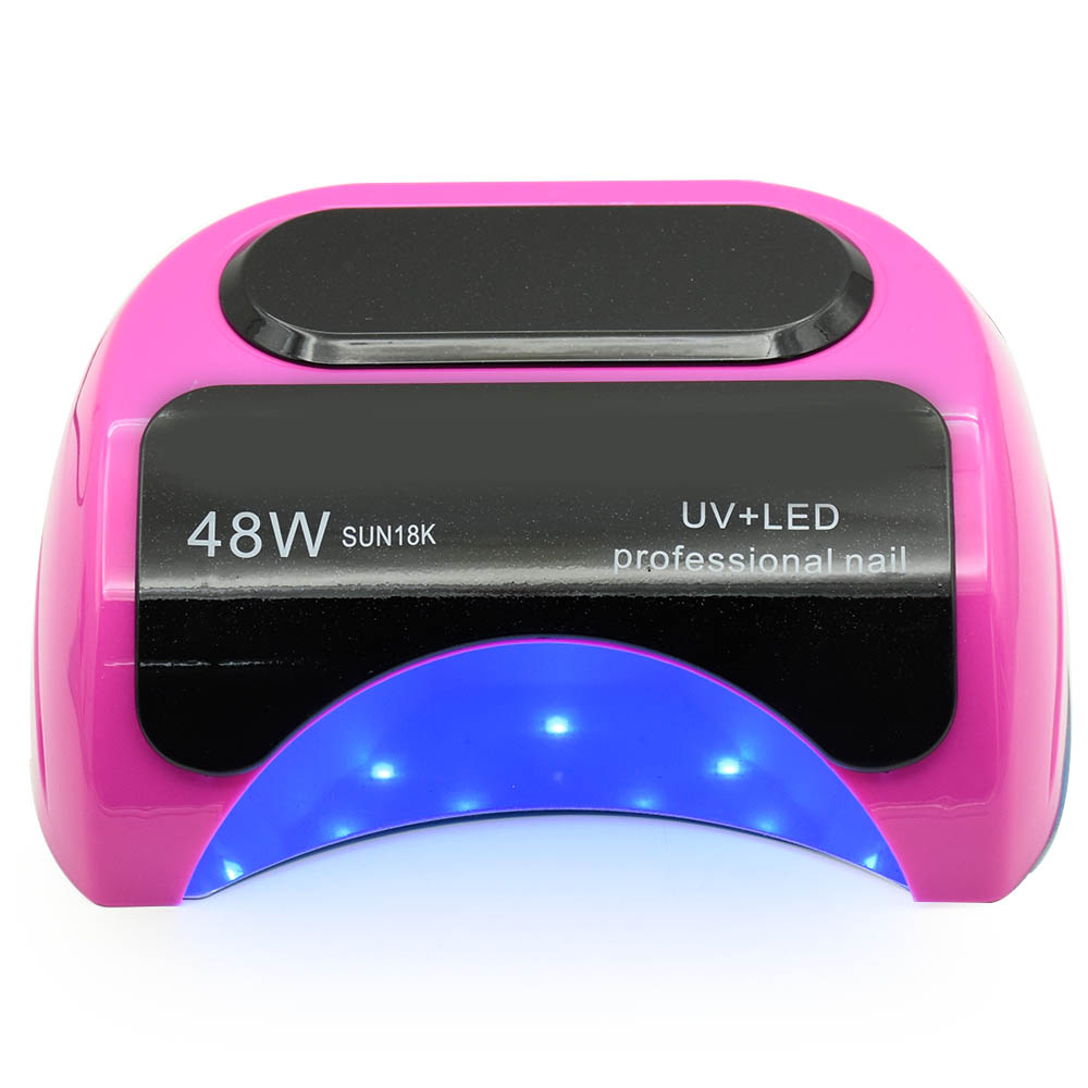 48W Nail Dryer Polish Machine CCFL UV Lamp LED Nail Lamp For Gel Nail Polish Art Automatic Hand Sensor Nail Art Tools 48w nail polish gel art tools professional ccfl led uv lamp light 110 220v nail dryer automatic induction 10s 20s 30s timer